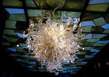 Livraison gratuite moderne haut plafond Art déco lustre