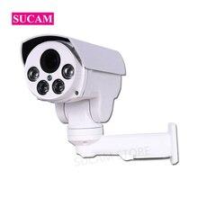 SUCAM 1080P Bullet AHD PTZ Camera Outdoor 4xZoom 10xZoom Optical Varifocal Analog Speed Surveillance AHD/TVI/CVI/CVBS 4 IN 1 Cam