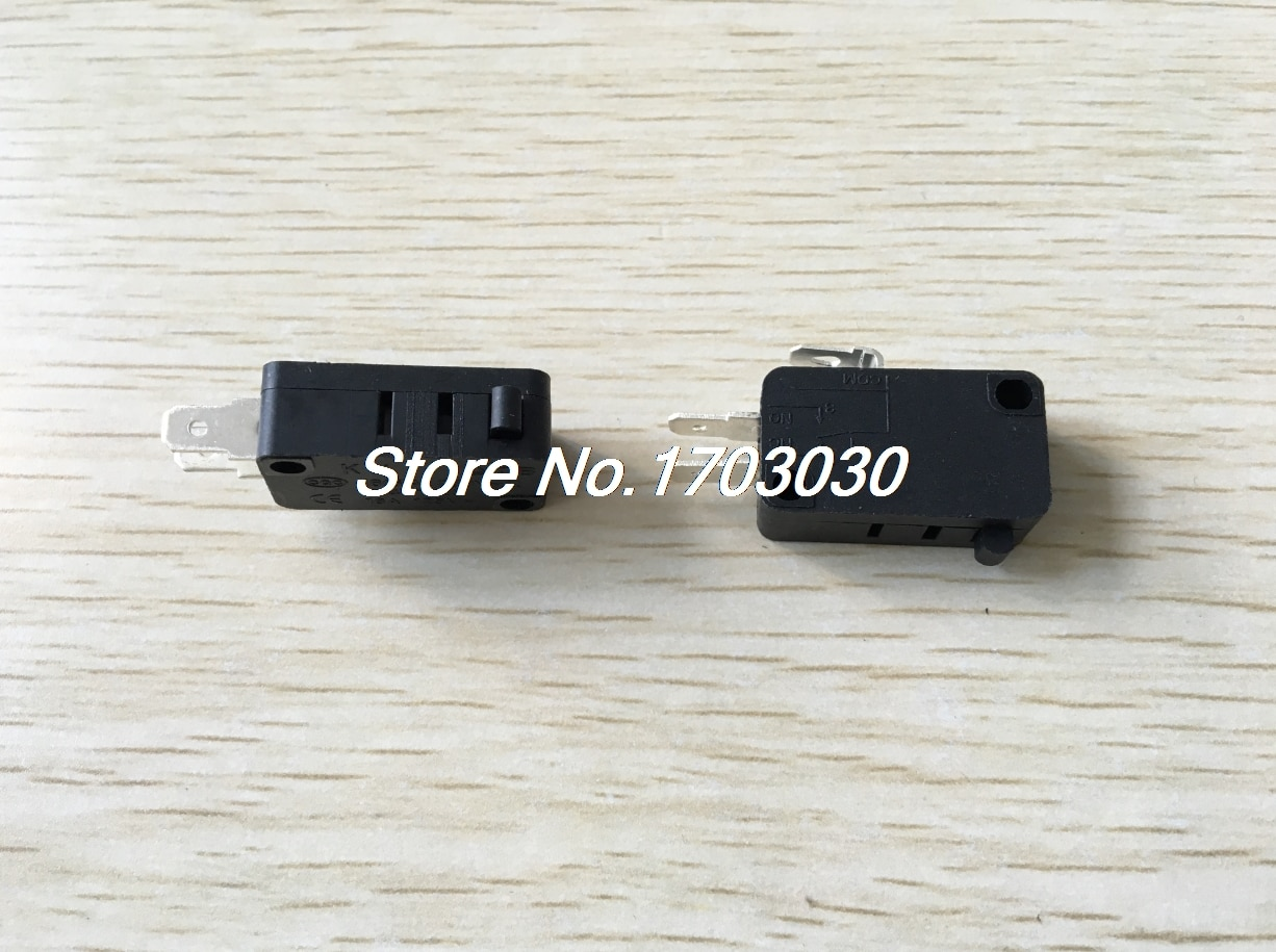 100 pces micro interruptor de limite nenhuma alavanca subminiatura spdt snap action 28x16mm
