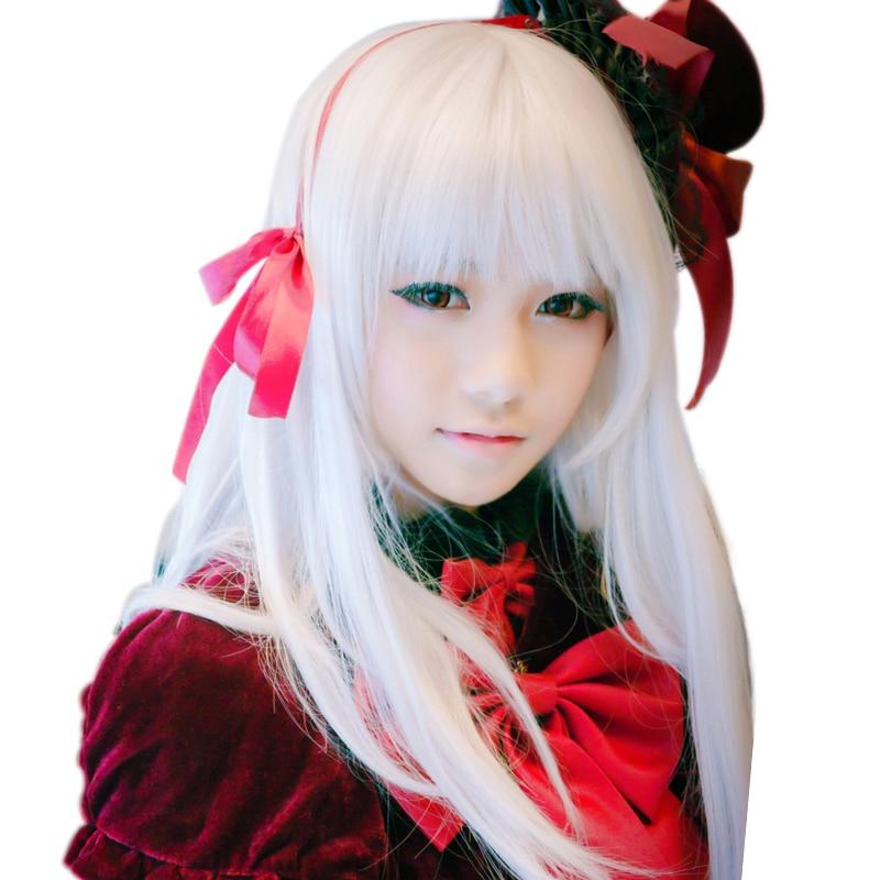 HSIU Anna Kushina peluca Cosplay K anime k-project disfraz juego pelucas Halloween Disfraces pelo