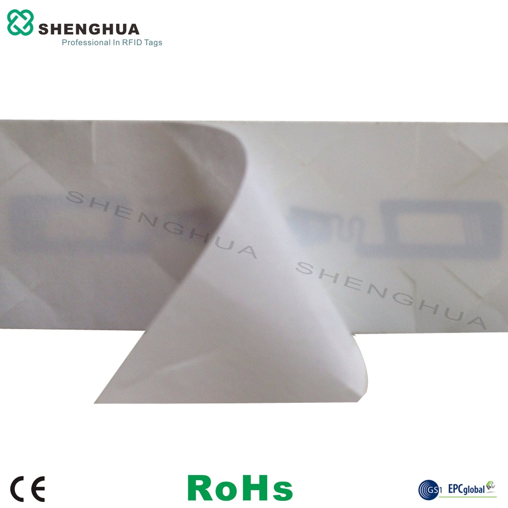 Etiqueta para parabrisas de vehículo RFID pasivo UHF, etiqueta para coche mascota inteligente, pegatina antirrobo con marcas de cuchillos para aparcar el sistema de peaje 1 Uds.