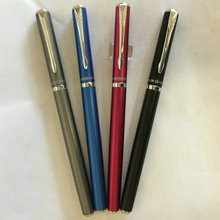 Перо из иридия Hero 3266, роскошные перьевые ручки из стали 0,5 мм с вращением на 360 градусов, бесплатная доставка