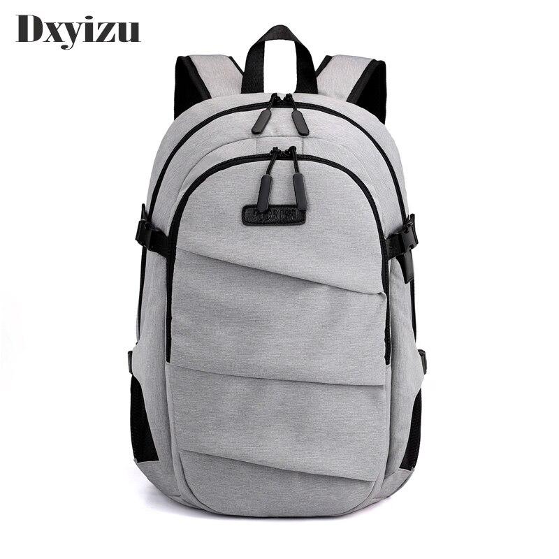 Mochila de negocios para hombre, mochila de viaje informal, mochila escolar de calidad, mochilas para ordenador portátil de 15,6 pulgadas