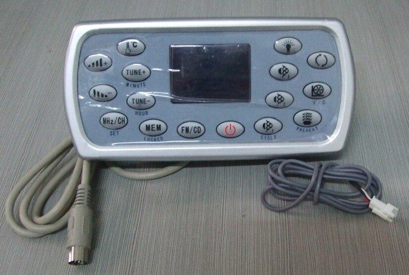 Para JNJ de Monalisa... jazzi... mesda... sunrans y Deluxe spa panel de Control y teclado panel de HLW-A-8001 HLW15B