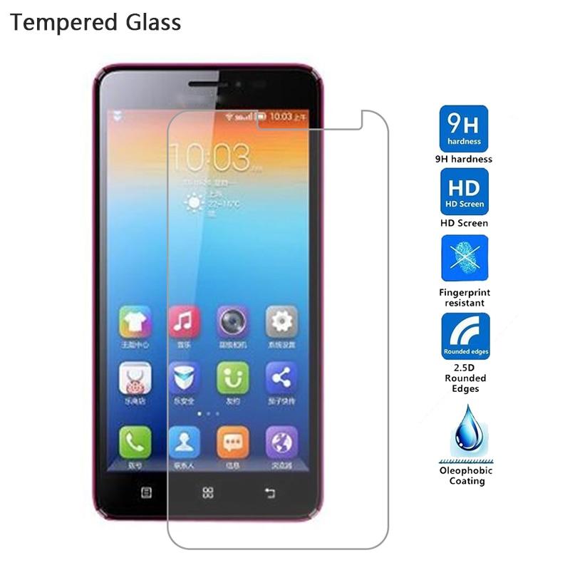 9H de alta calidad Anti-explosión Protector de pantalla de vidrio templado para Lenovo A850 A606 A916 S60 S90 S850 A2010 A1000 película del teléfono