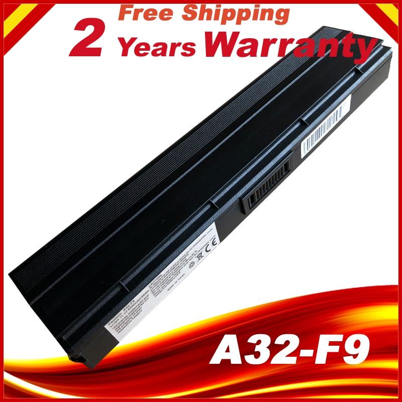 F9J A32-F9 A31-F9 A32-F9 Bateria do portátil Para Asus Z53 F6 F6E F6A F6K F6K54S-SL F9DC F9E F9F