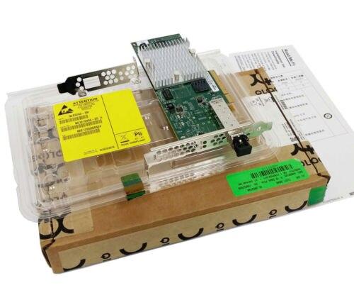 RaidStorage QLogic QLE8240-SR-CK QLE8240 1 puerto 10GbE FC LC SR TCP/IP SAN iSCSI FCoE adaptadores de red PCIe tarjeta controlador