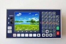 Contrôleur de CNC 4 axes clé USB G code broche panneau de commande MPG contrôleur de fraiseuse de tour autonome
