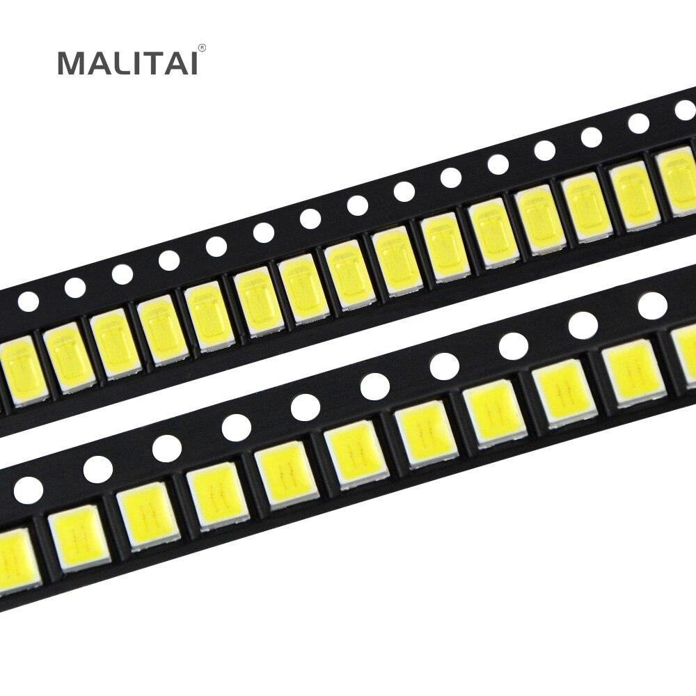 100 Stücke 100% Original Epistar SMD 5730/2835 Chip LED lampe 40-55 LM Led Diode Für Led-streifen Scheinwerfer, indoor birne