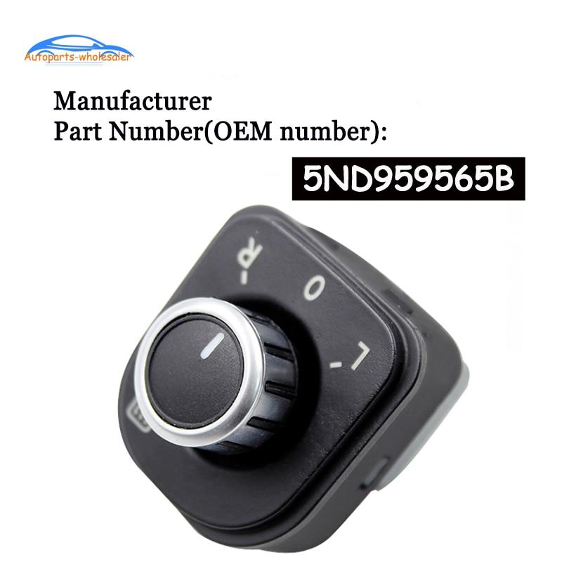 5ND959565B para J etta MK5 Golf MK5 MK6 Rabbit Eos Passat B6...