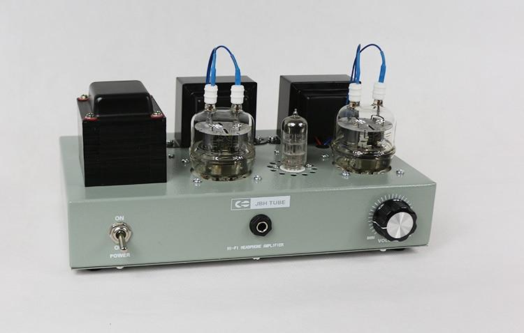 2019 hecho a mano fu32 tubo de vacío 4 W + 4 W tubo amp amplificador de auriculares