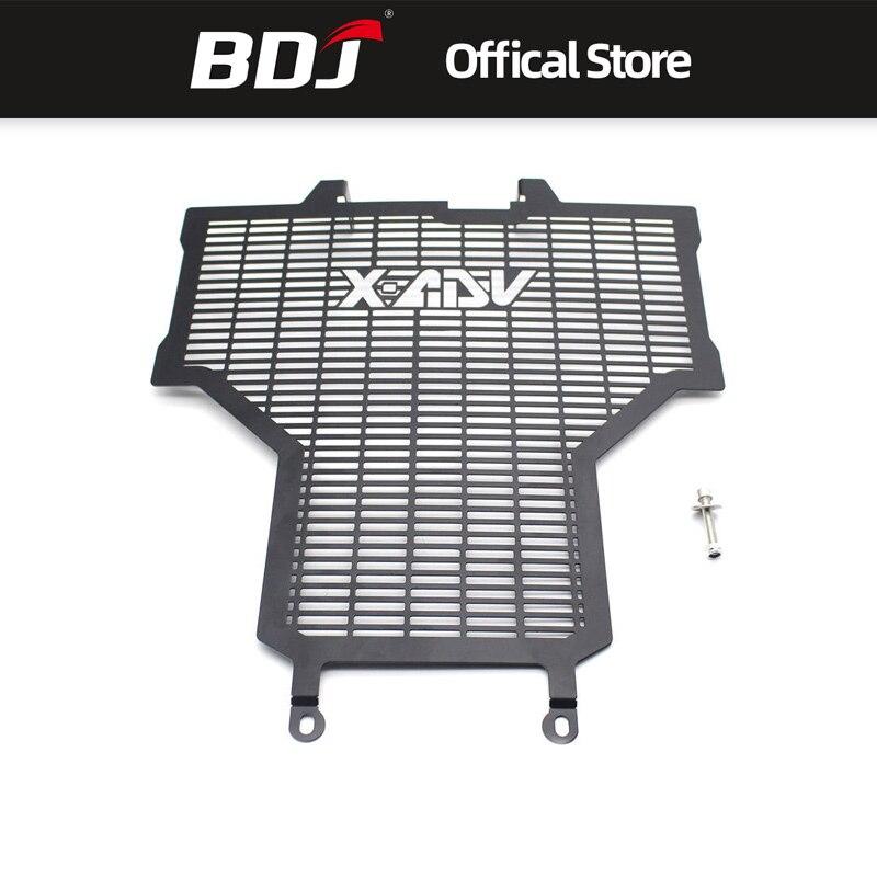 BDJ para Honda XADV750 X-ADV750 2017-2018 Protector de radiador de aluminio modificado tanque de agua refrigerante parrilla rejilla Protector de red