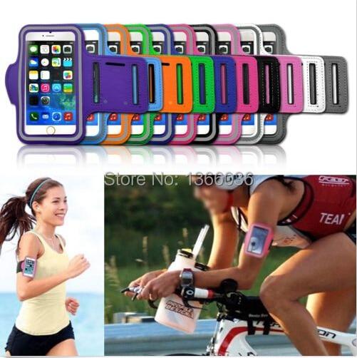 غطاء ذراع رياضي لجهاز iPhone 6 Plus ، 5.5 بوصة ، الركض ، الجري