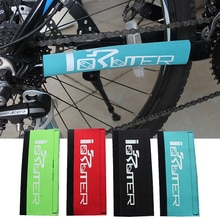 1 PC Marco de bicicleta cadena Protector de bicicleta de montaña horquilla frontal Protector almohadilla protectora cubierta de ciclismo Accesorios