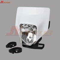 New 2018 Headlight Headlamp Head Light Lamp Supermoto Fairing For HUSQVARNA Universal Off road Dirt bike