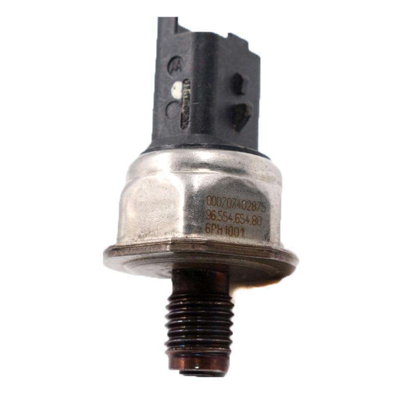 Fuel Rail Pressure Sensor For Peugeot 307 206 Citroen C1 C2 C3 C4 Xsara Berlingo Picasso 1.4 1.6 HDI 6PH1001 55PP06-03