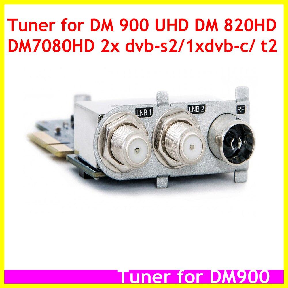 Dream Triple тюнер 2x DVB-S2 1x DVB-C/T2 Новое поступление 3 в 1 тюнер для DM900 UHD DM7080 HD DM820 HD