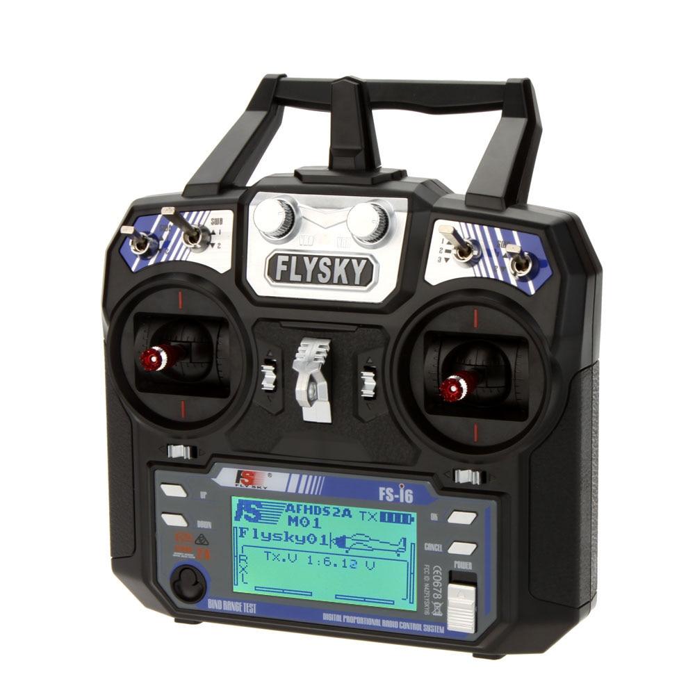F14914/5 Flysky FS-i6 6CH 2.4G AFHDS 2A LCD الارسال iA6 استقبال وضع 2/1 راديو نظام ل RC طائرات الهليكوبتر طائرة شراعية Quadcopter