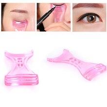 Eye liner dessin Guide carte moule magique oeil maquillage aide/Eyeliner pochoir modèle débutant Assistant