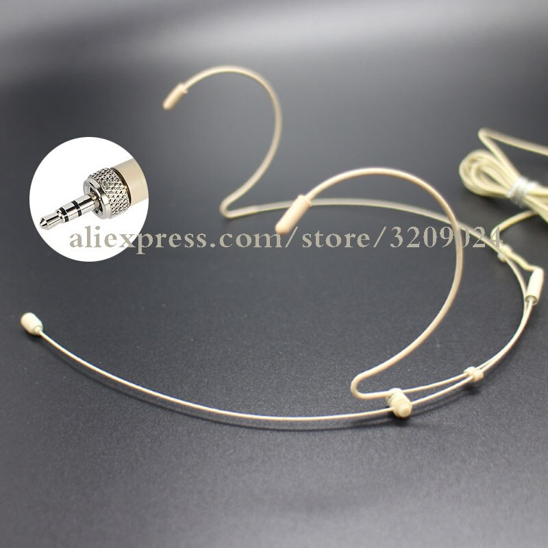 Pro Dual Ohr Kopf Headset Mic Headworn Mikrofon für Sennheiser EW 100 300 500 G1 G2 G3 Drahtlose Microfono System