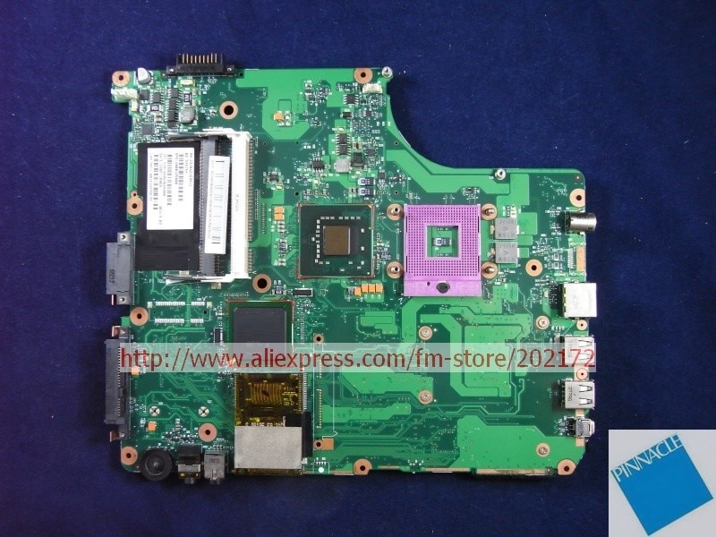 V000125000 Motherboard para Toshiba Satellite A300 A305 6050A2169401