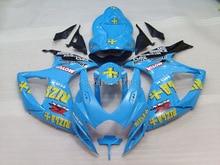7 cadeaux Pour SUZUKI K6 06 07 Bleu Clair GSXR750 GSX-R750 GSXR 750 2006 2007 GSXR-750 Carénage