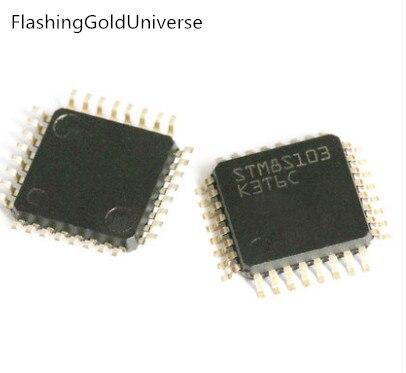 Frete grátis 100 PCS STM8S103 STM8S103K3T6C QFP32 novo Novo Original original