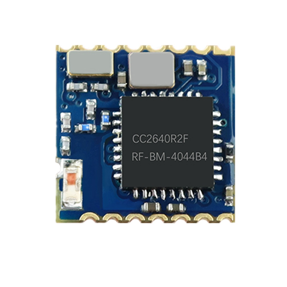 4044B4 CC2640R2F módulo Ultra pequeño tamaño 8*8mm BLE4.2/5,0 módulo inalámbrico Bluetooth CC2640