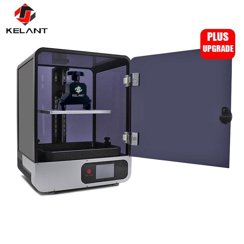 "Kelant S400S DLP 3D Drucker 8.9 ""LCD 2K laser 3d Drucker UV Harz SLA Licht-Heilung 192*120*200MM impresora diy kit druck maske"