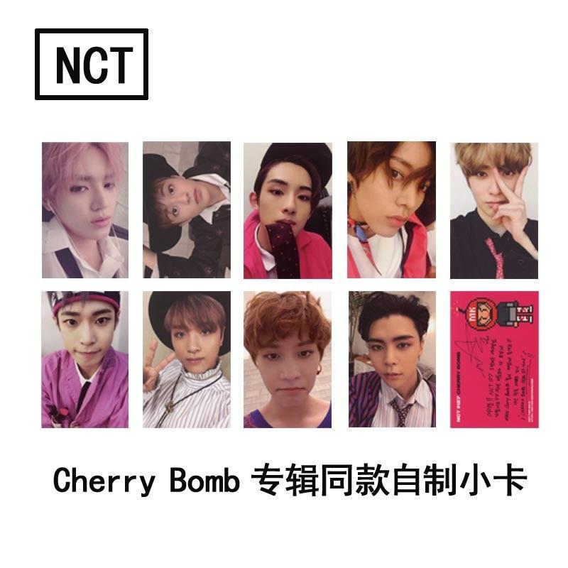 [MYKPOP]NCT127 3ª álbum cereza bomba foto tarjeta HD LOMO tarjeta KPOP colección de Fans SA18050915