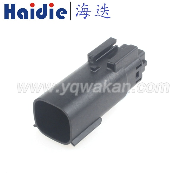 Envío gratis 2 conjuntos de 6 clavijas de conector de enchufe macho a prueba de agua 33482-0601