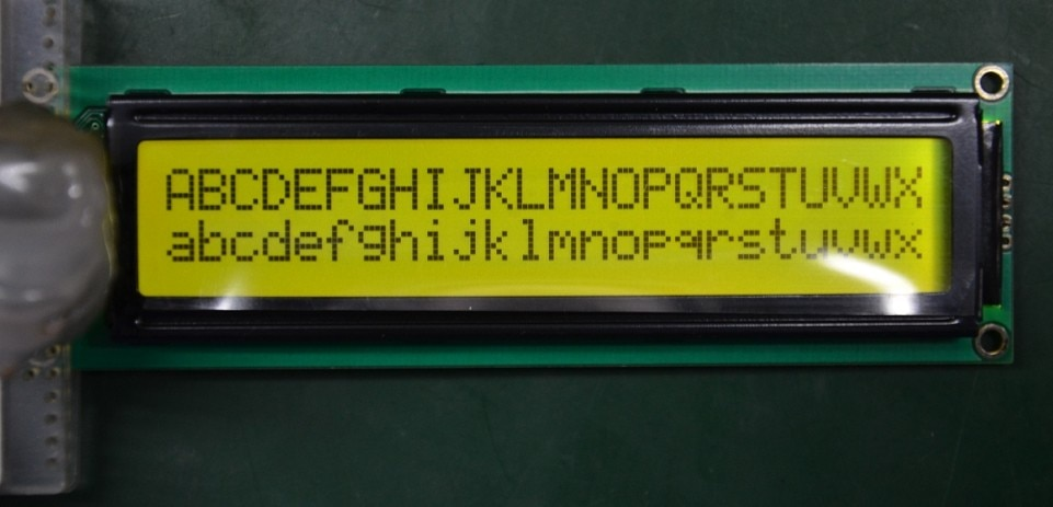 1 Uds. 2402 24.x2 módulo LCD pantalla LCM amarillo verde LCD retroiluminación LED