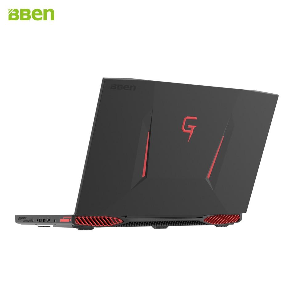 BBEN G17 17.3 inch Gaming Laptop i7 cpu GDDR5 NVIDIA GTX1060 Windows10 DDR4 32GB+512GB SSD+1TB HDD RGB Mechanical Keyboard