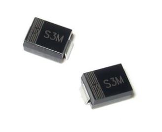 10 piezas 1N5408 IN5408 S3M SMB DO-214AA 3A 1000 V rectfier diodo