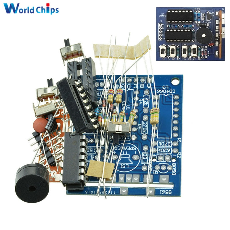 16 Music Box 16 Sound Box BOX-16 16-Tone Box Electronic Module DIY Kit DIY Parts Components Accessor