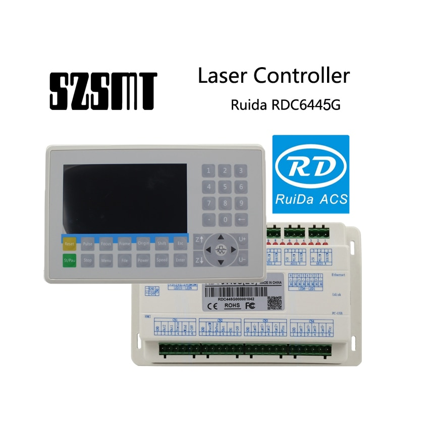 Новинка 2019 руида RDC6445G контроллер для Co2 лазерной гравировки резки