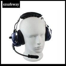 Casque daviation casque talkie-walkie pour KENWOOD BAOFENG UV-5R BF-888s chape H777