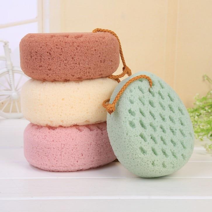 Kolifu 1pcs Bath Ball Scrubber Shower Body Cleaning Mesh Nylon Sponge Rich Bubbles Body Loofah Massage Shower Scrubber KLF008