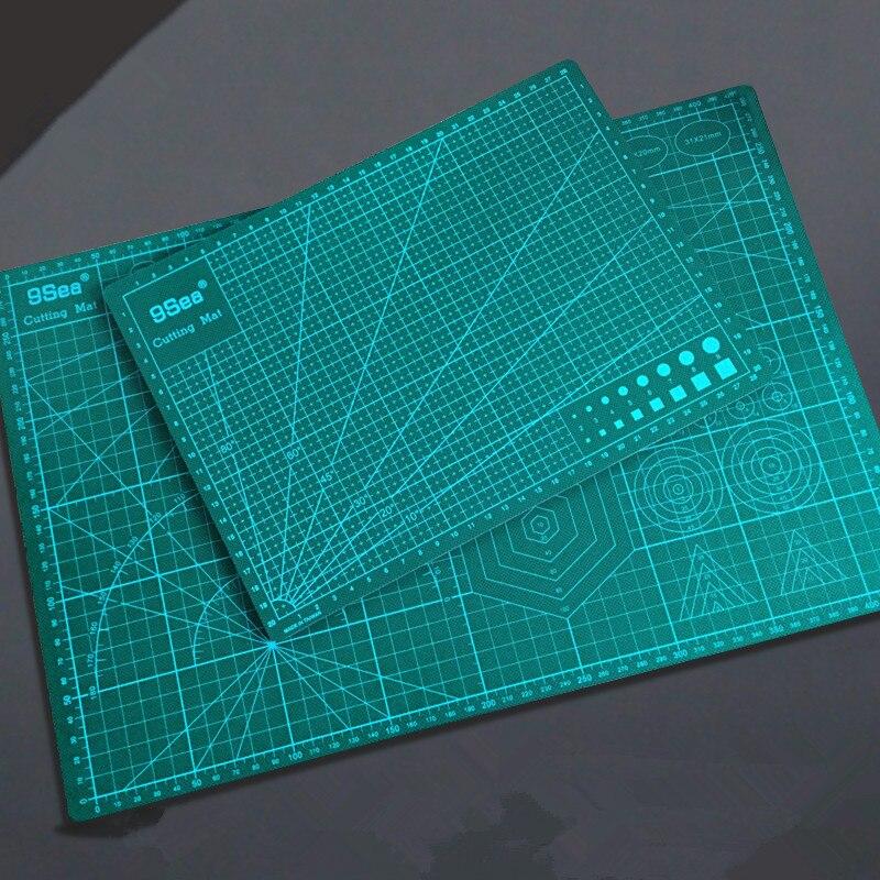 2Pcs PVC Cutting Mat A3+A4 Durable Self-healing Cut Pad Patchwork Tools Handmade Diy Accessory Cutting Plate