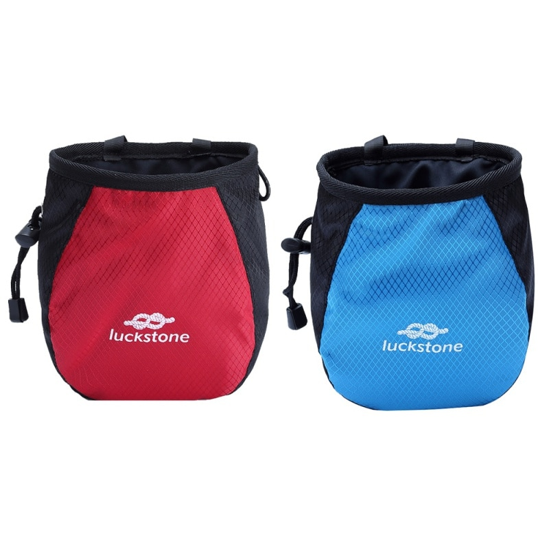 Climbing magnesium powder bags Outdoor fitness single parallel bars gymnastics pink slip magnesium powder bags storage pockets