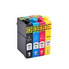 NoEnNam8pcs Inkt Cartridge T2701 T2702 T2703 T2704 Epson Workforce Pro Wf 3620DWF 3640 Dtwf 7110DTW 7610DWF 7620 Dtwf Printer 2701