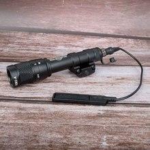Vue de chasse tactique Airsoft M600V double sortie LED SCOUT lumière pistolet arme lumière en plein air chasse fusil lampe de poche