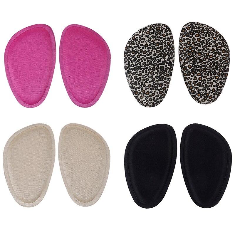 Mujeres 4D esponja antepié Pads sandalias tacones altos zapatos Anti-deslizante cojín media yarda inserte almohadilla para pie cuidado frontal silicona plantillas
