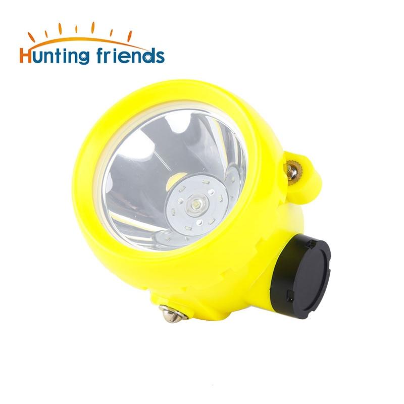 50pcs/lot Mining Headlamp Explosion Rroof Mining Light Waterproof Mining Cap Lamp Rechargeable Coal Mine Lamp Hunting Headlamp