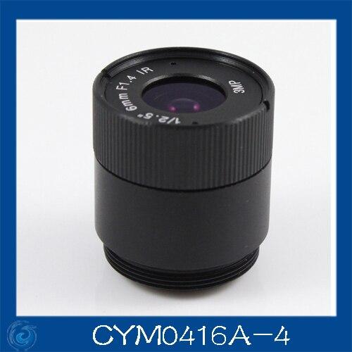 """3mp. Cctv câmera de 4 mm Iris lens, 1/2. 5 """" cs para câmera de segurança. Cym0416a-4"""