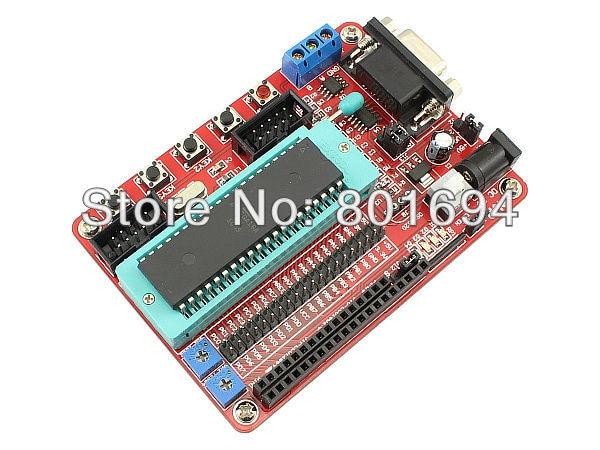 Mini Sistema AVR Development Board Com Cabo USB Para ATmega16A/ATmega16L/ATmega16/ATmega32