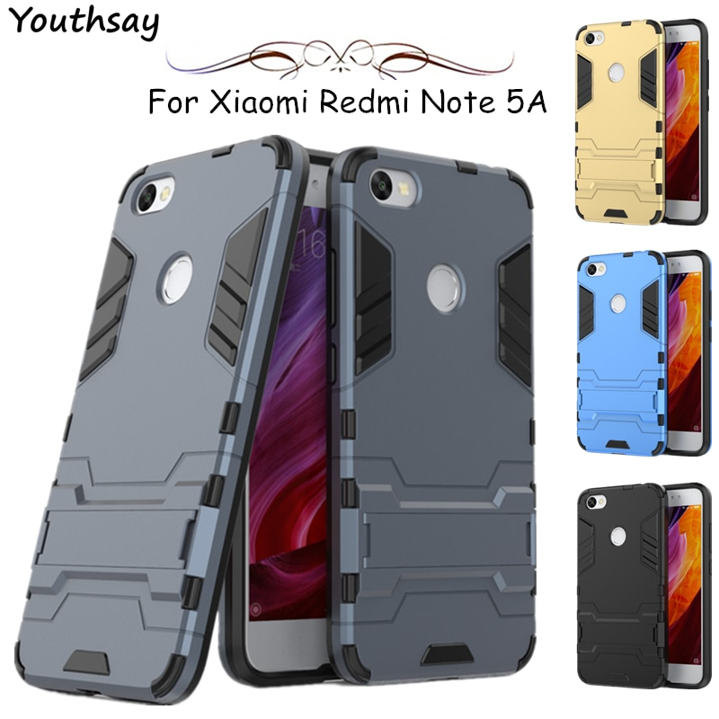 For Xiaomi Redmi Note 5A Case Note 8 Pro 6 6A 7A Robot Silicone Cover For Xiaomi Redmi Note 5A Prime Case For Redmi Note 7 Case