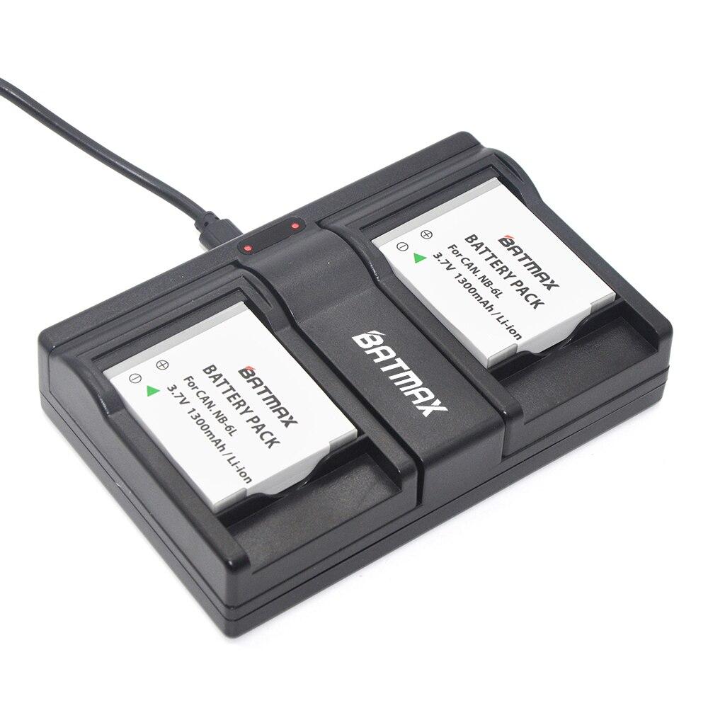 Зарядное устройство с двумя usb-портами для камеры Canon IXUS 310 SX240 SX275 SX280 SX510 SX500 HS 95 200 105 210 300 S90 S95, 6L
