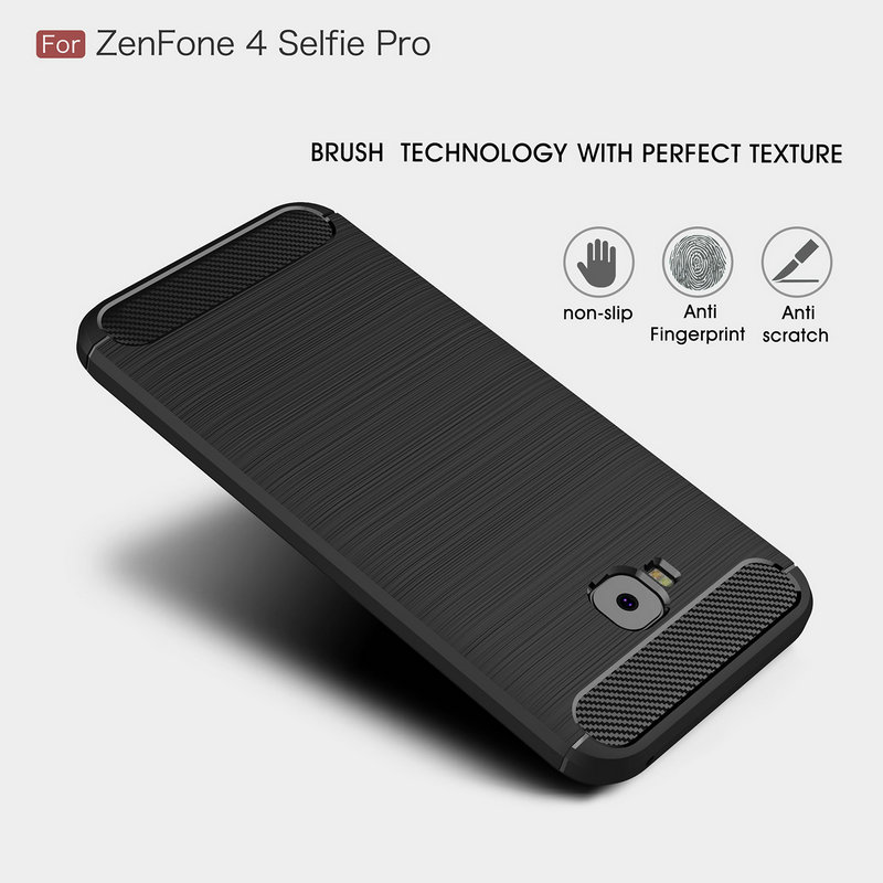 Funda de teléfono para Asus Zenfone 4 Selfie Pro ZD552KL Z01MD Z01M ZD553KL ZB553KL Max Pro M2 ZB631KL ZB633KL Armor contraportada