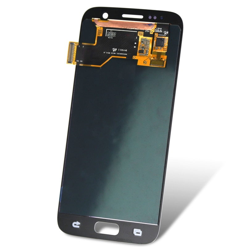 good quality for mobile phone G930F For S7 lcd display OEM quality 5.1 inch replacement digitizer lcd screen assambly enlarge